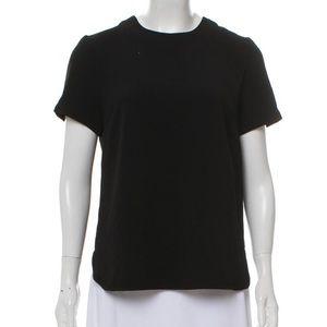 Catherine Malandrino black blouse NWT LP